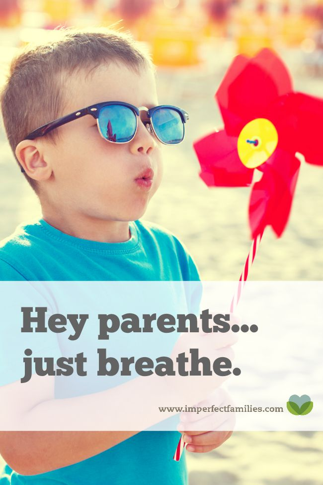 Hey stressed out mom! Frustrated parents. Overwhelmed caregivers. Just breathe. No really. Try it now!