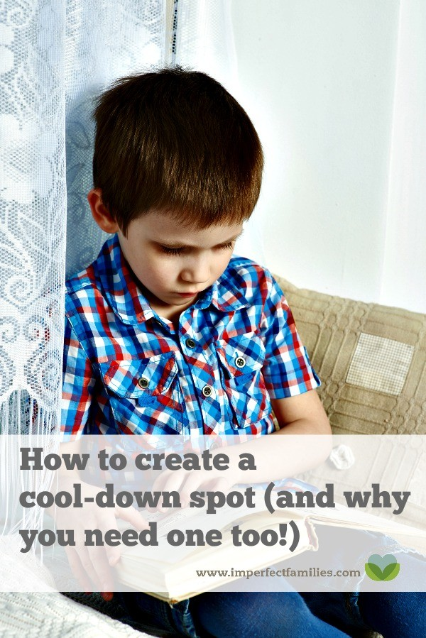 """Instead of sending your child to time-out when these big feelings happen, help them regulate their emotions using a """"cool-down"""" spot."""