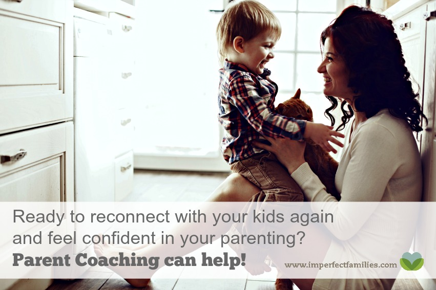 If you're ready to reconnect with your kids an feel confident in your parenting, parent coaching can help. Contact me today for more information