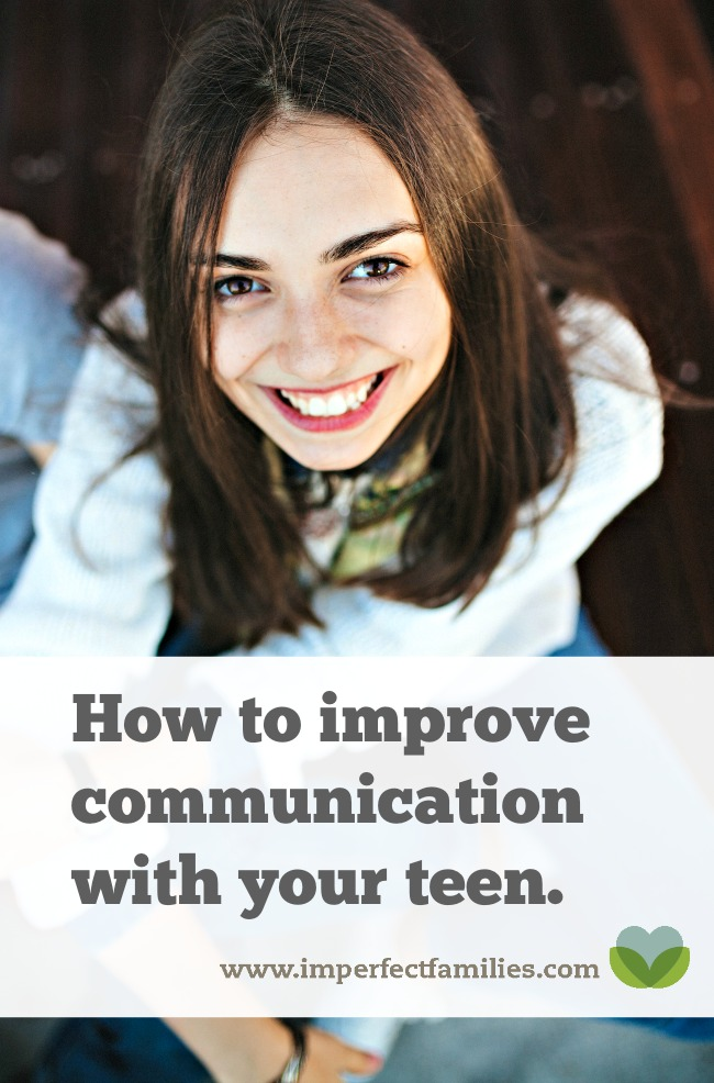 Your teen wants you to feel heard, understood, and loved. Learn how to improve the communication with your tween or teen by improving your listening skills!