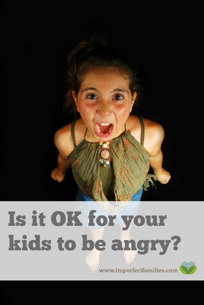 "Is it ok for your kids to be angry? Or do you say, ""stop that!"" or ""calm down!"" when they get upset? Instead of giving mixed messages, show your child that it's ok to be angry."