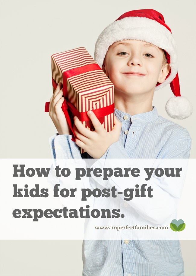Help your kids be thankful for their gifts, take responsibility, and keep the excitement all year long using these suggestions for setting post-gift expectations in advance.