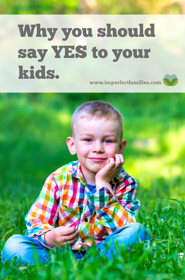 "Kids not listening? Tired of arguing? Try saying ""yes"" to your kids! Turn your corrections into positive statements instead of saying ""no."""