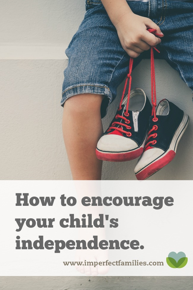 Is your child struggling with helplessness? Learn how to respond and encourage independence!