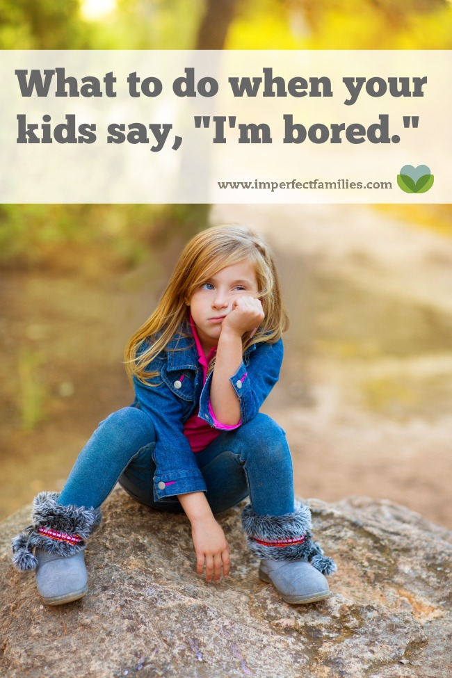 """If the thought of hearing your kids say, """"I'm bored,"""" makes you panic, here are some tips for helping your kids fill their time independently."""