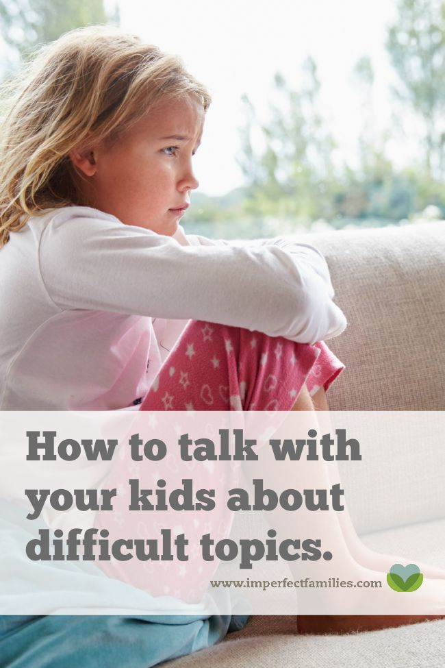 Talking to kids about difficult topics is no easy task for parents. From bombings, kidnappings to health scares and death. Here are some tips to get you started.