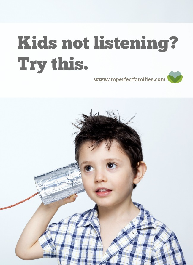 Tired of being ignored? Feel like your kids never listen? Sometimes, parents talk too much. Use these tips to choose your words and encourage your kids to listen!
