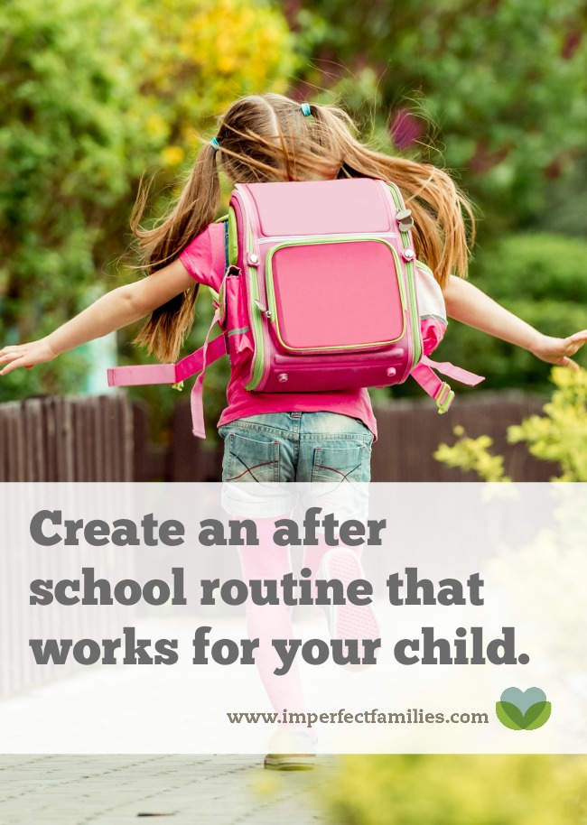 Use these tips to create an after school routine that works for both you and your child!