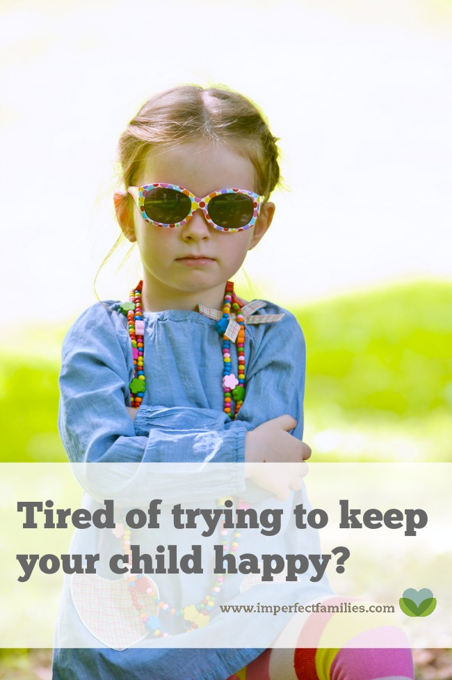 Stop jumping through hoops to keep your child happy! It's ok for our kids to feel sad, disappointed, frustrated. Here are some things to think about when you're feeling trapped, trying to rescue your kids from big feelings.