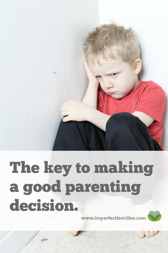 You want to be a positive, encouraging parent, but sometimes things don't go as planned. Here's the key to a calm parenting response!