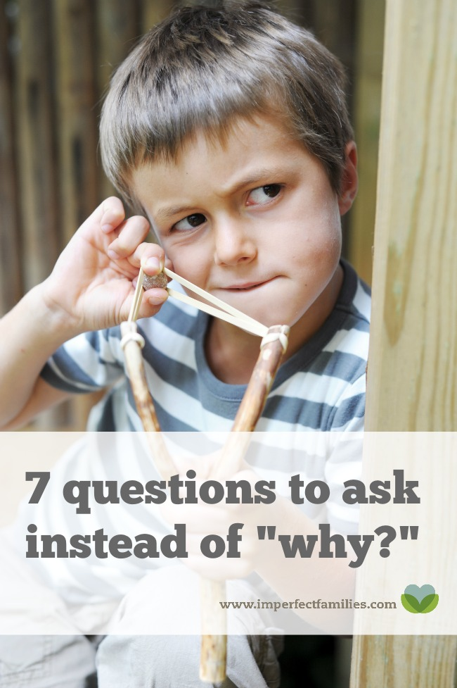 """Ask your kids """"why"""" they did something, you're going to hear """"I don't know."""" Get some answers by asking these 7 questions instead."""