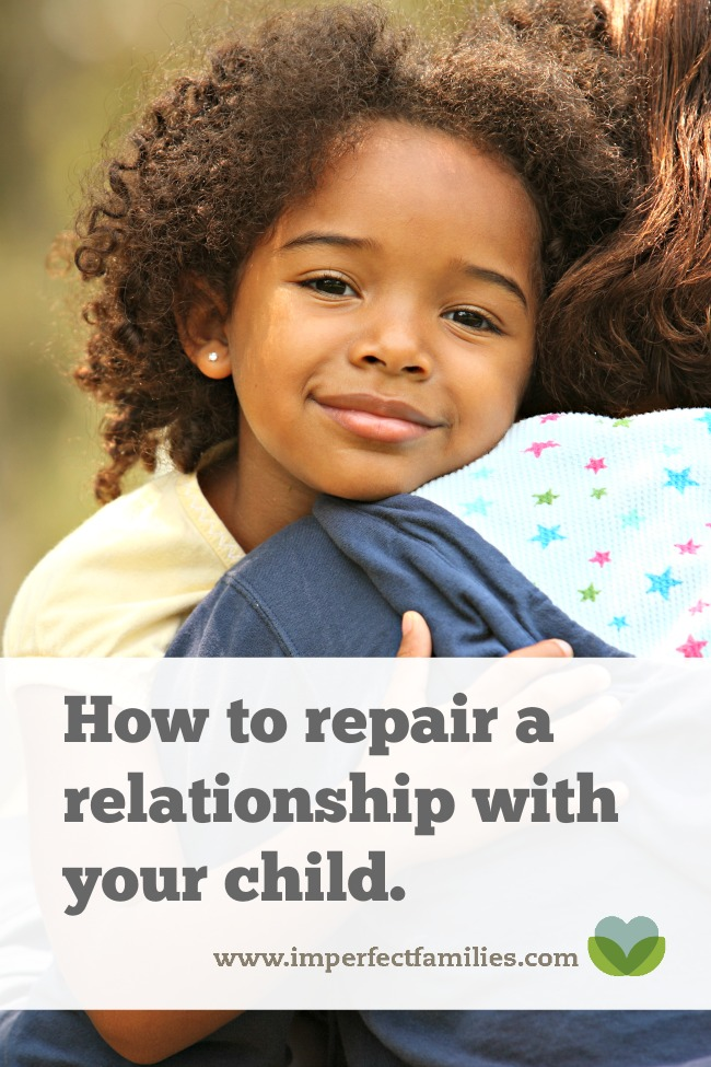 If you're feeling distant from your child, learn how to repair the relationship using these tips.