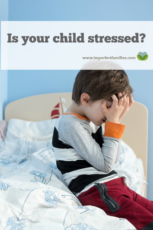 Can a little kid feel stress? Is your child feeling stressed? Learn how to support them as they manage big feelings!