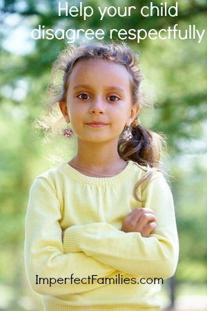 How to help your child disagree respectfully