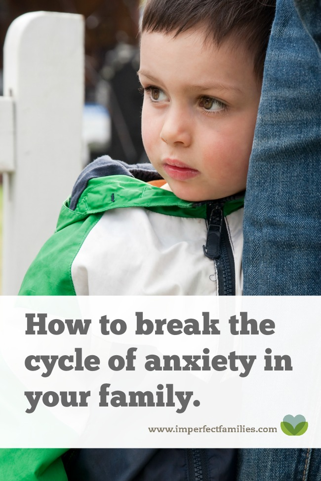Learn how to parent well even if you struggle with anxiety.