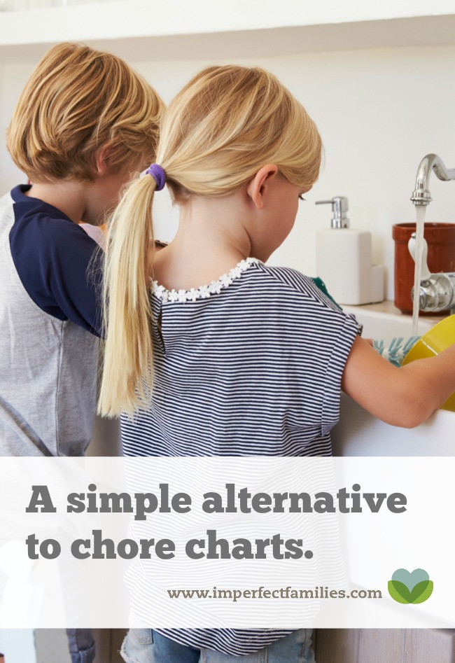 Tired of bribing, threatening, and demanding your kids help around the house? Try this chore chart alternative.