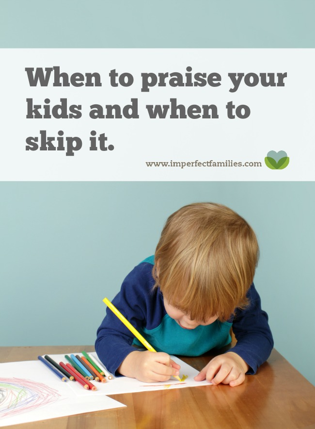 """Feel like you're saying a generic """"good job"""" to your child for every little thing? Praise is a good thing, but it can be overdone. Learn why it's ok NOT to say """"good job"""" to your kids."""