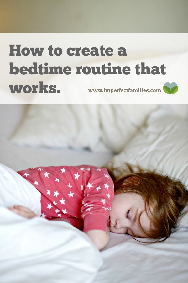 Tired of fighting with your kids at bed time? Does bed time take too long? Try these tips to make a bedtime routine that works.