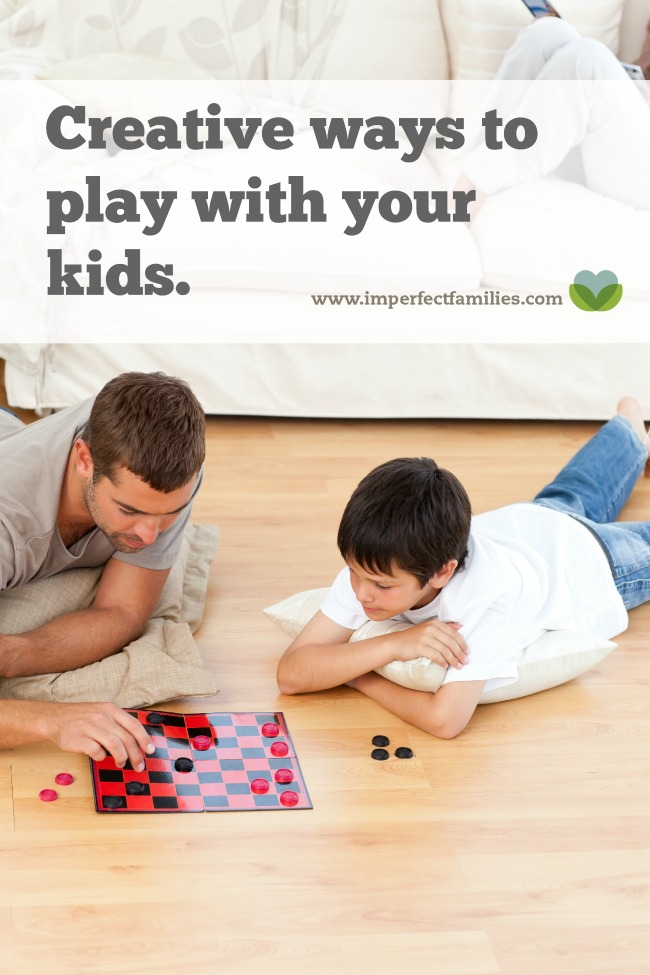 If the though of playing with your kids makes you cringe, think outside the board game! Try these creative ways to connect with your kids: cooking, classes, crafts and more!