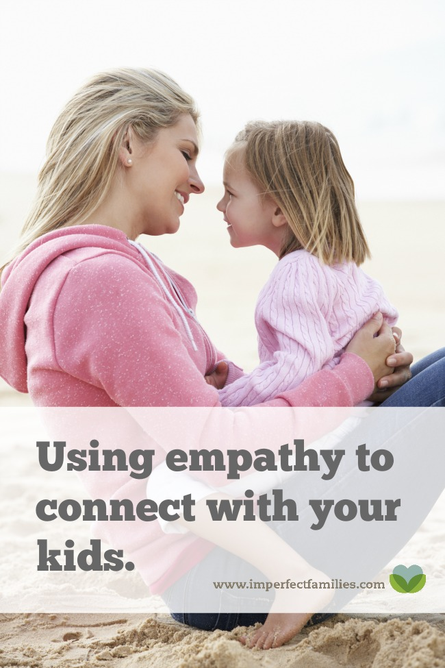 Empathy is a fantastic positive parenting tool, but it is also misunderstood. Here are 3 tips for using empathy to connect with your kids!