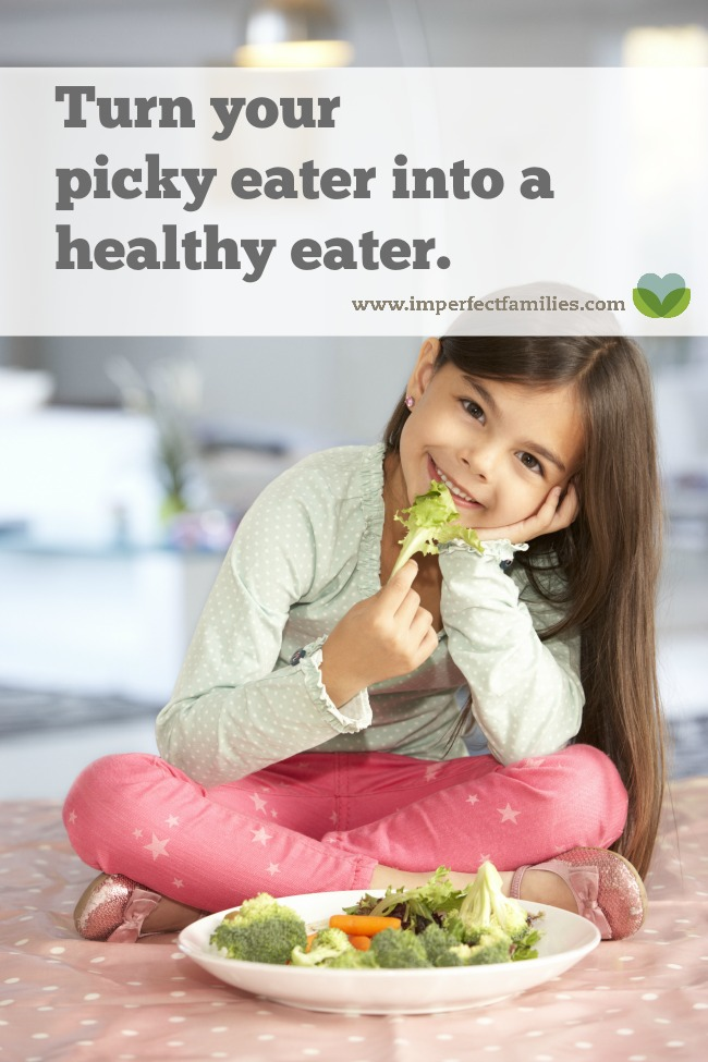 how to eat healthy if you are a picky eater