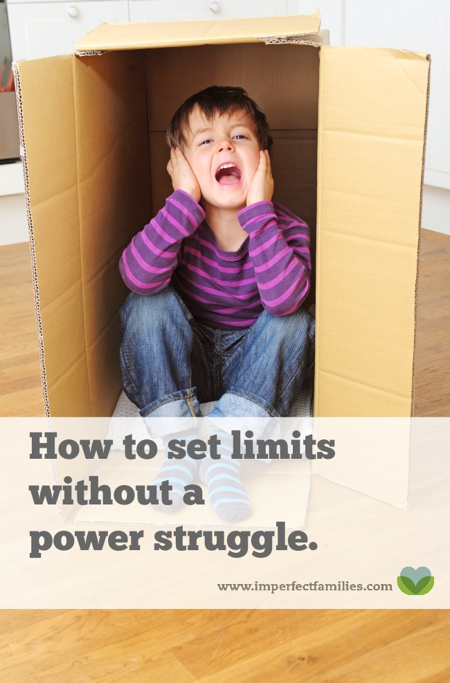 Don't you wish your kids would just listen? Why does everything turn into a power struggle? This positive parenting tip will help you set firm limits, while still treating your kids with respect. Read sample scripts and learn more about how to eliminate power struggles in your hIf you're tired of the power struggles with your kids, it's time to try something new. Learn how to use positive parenting to set firm limits in your house.