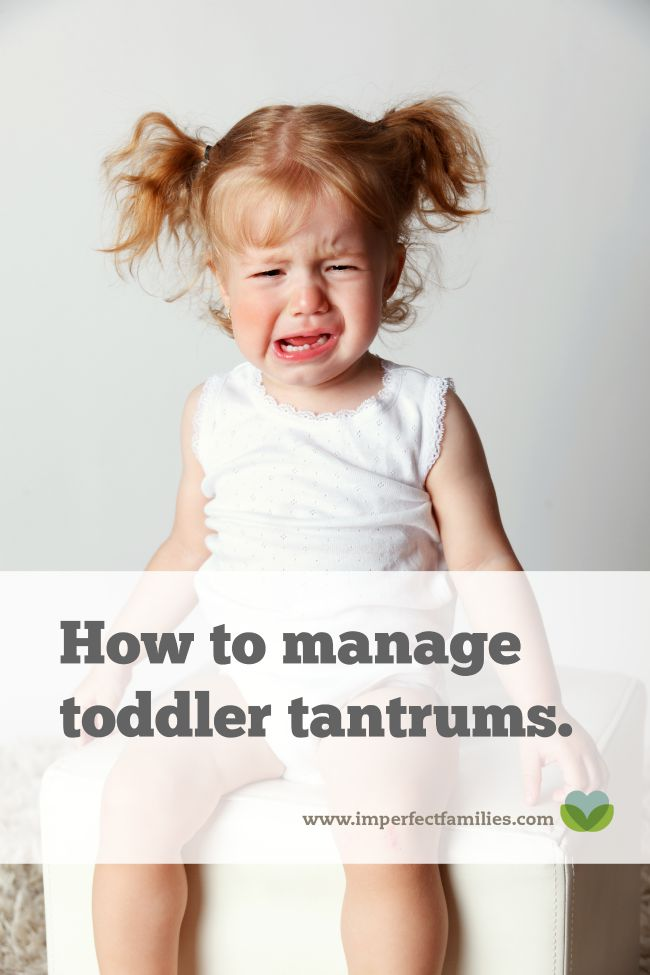 Tips for managing toddler tantrums. Plus, tips for preventing future tantrums, alternatives to punishment and ways to help your child through big feelings.