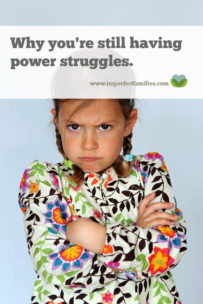 Still having power struggles with your kids? This might be the reason. Plus, alternatives to try instead!