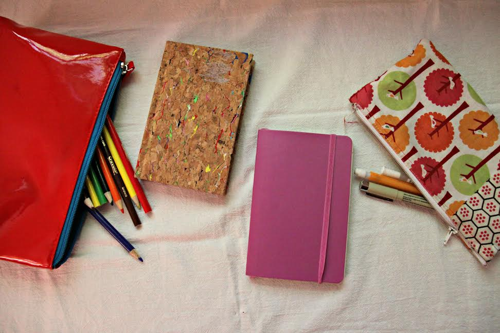 Use art to connect with your kids! Here are some art journaling prompts to get you started!