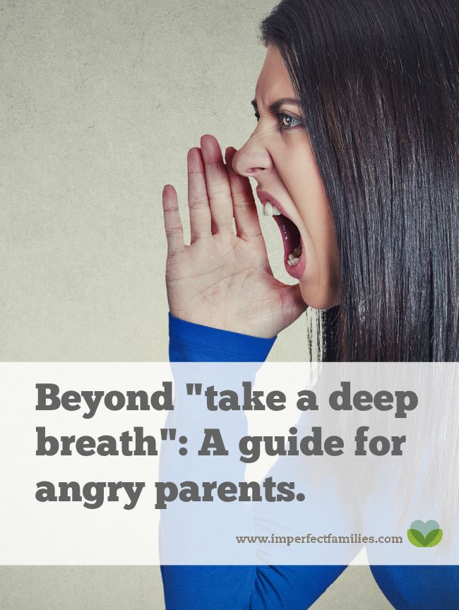 Learn how the word STOP can help you interrupt the angry parent cycle and stay calm with your kids!
