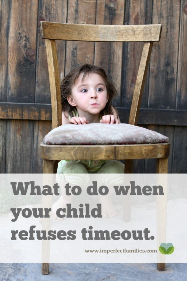 Tired of trying to force your child to stay in timeout? Here's a timeout alternative that works!