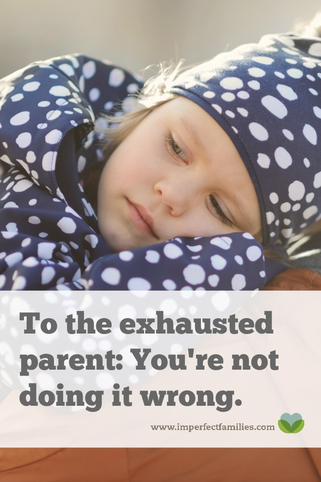 You're tired. You've tried everything. And now, you think it's your fault - you must be doing something wrong. Here's some encouragement for you, exhausted parent! Learn 3 reasons why your kids are still acting out!