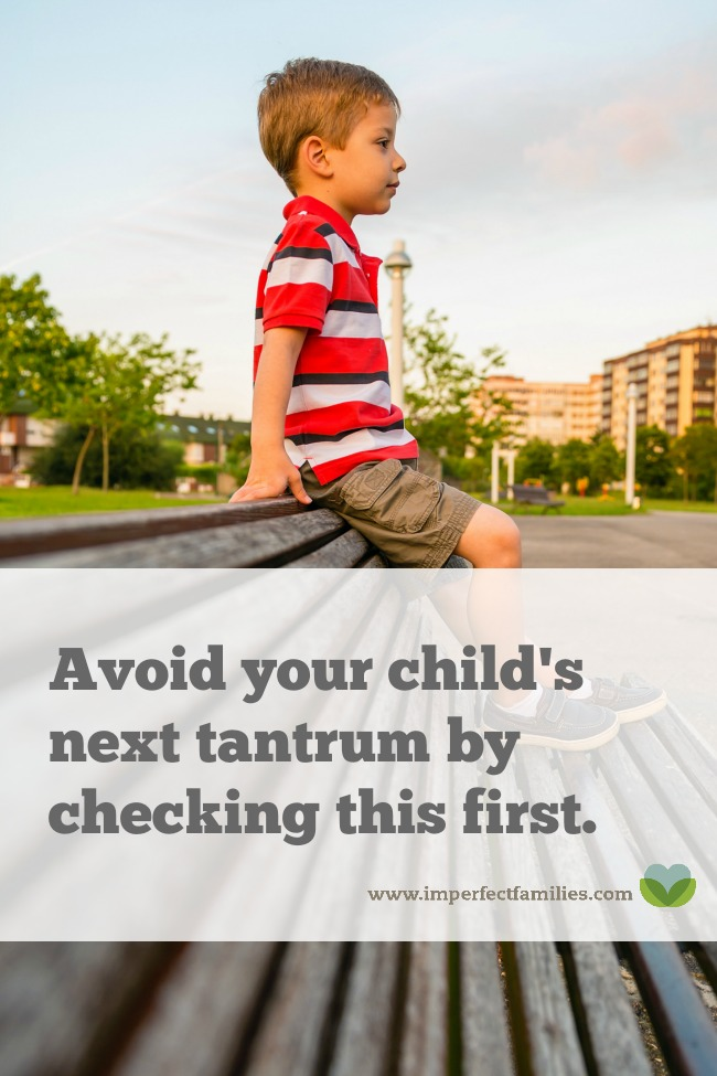 Knowing this one thing may help you avoid your child's next tantrum. Learn what to look for and what options you have on those difficult days.
