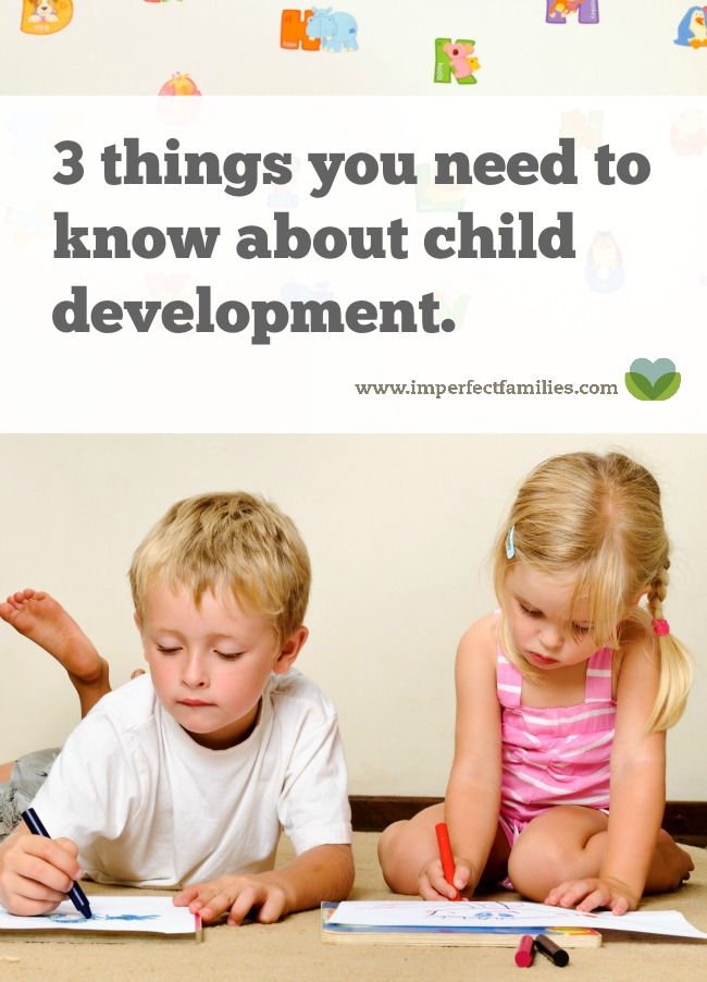 Worried about your child falling behind? Do you play a role in your child's development? Find out 3 things every parent should know about child development, written by a developmental psychologist.