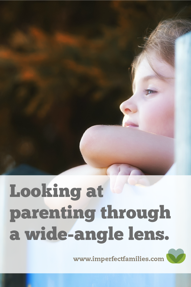 Are you frustrated with your kids' behavior. Tired of all the arguments? Maybe it's time to zoom out. To look at your parenting through a different lens.