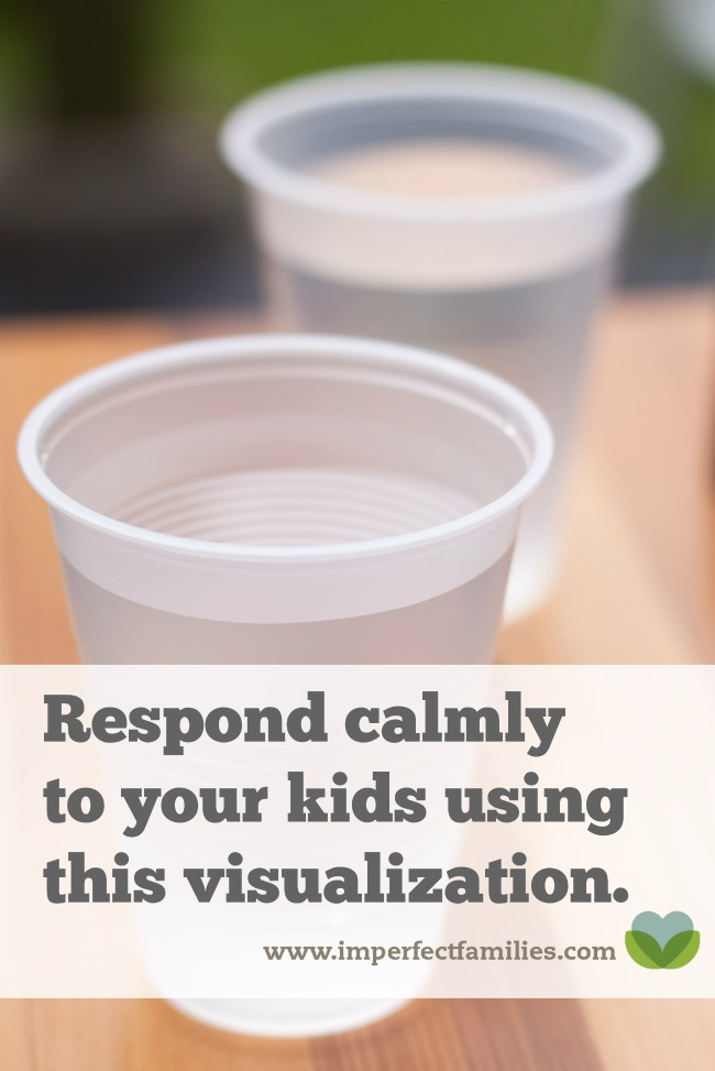 Respond calmly to your kids using this simple visualization!
