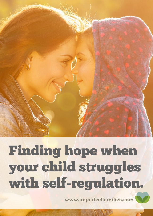 Waiting for your child to manage big emotions or self-regulate can be a long process. Look for glimmers of hope and maturity along the way.