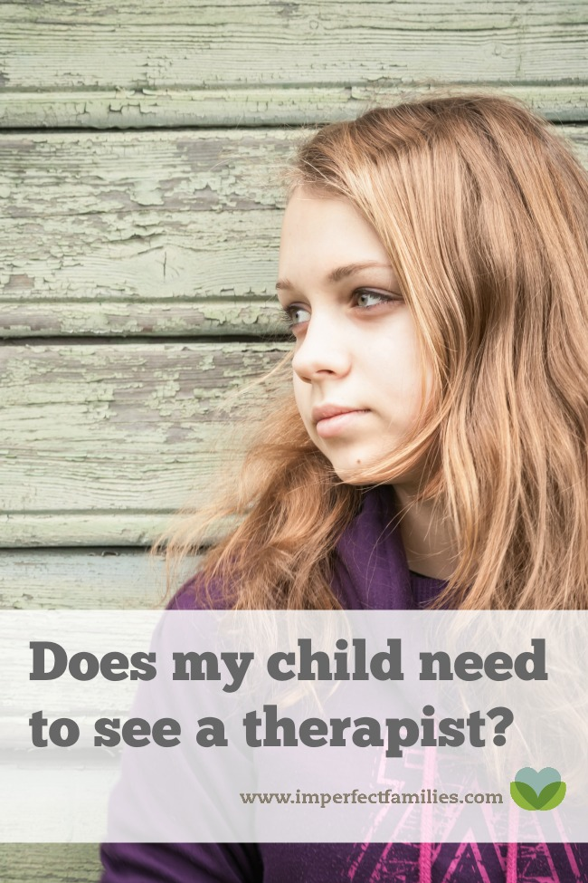 A list of reasons children see a mental health therapist, to help you know if your child needs to see a therapist.