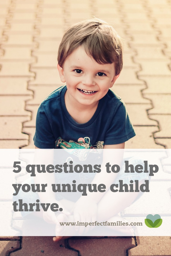 """If you've ever wondered, """"What am I doing wrong?"""" Become a student of your child using these 5 questions, and watch your child thrive!"""