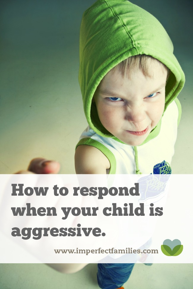 Using positive discipline to respond to aggressive kids