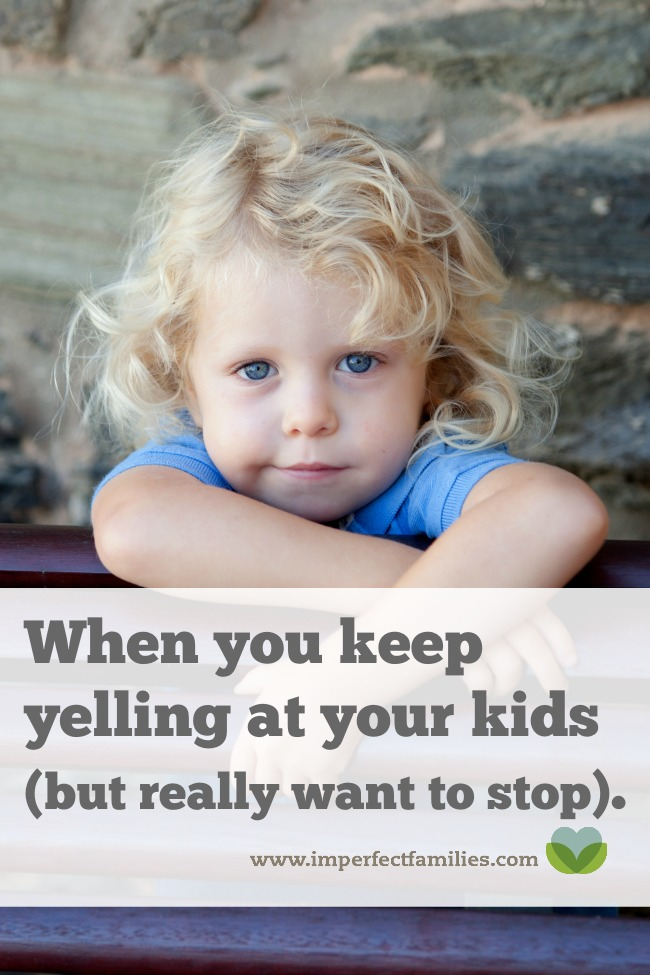 Ever feel like you're on a yelling cycle and you cannot escape? Try this tip to learn how you can stop yelling at your kids.