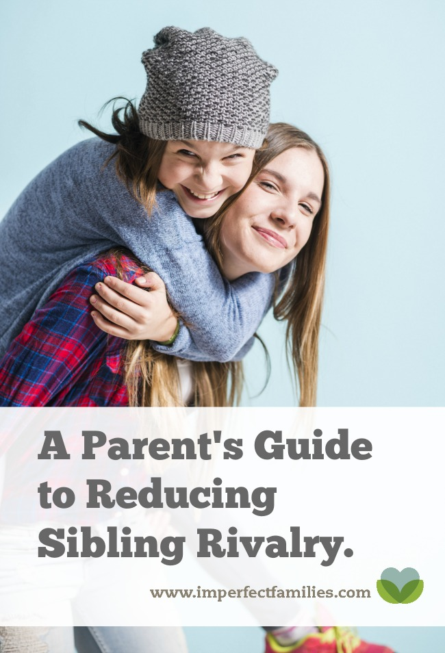 Tired of kids bickering, fighting, and arguing? Use this guide to reduce sibling rivalry in your home.