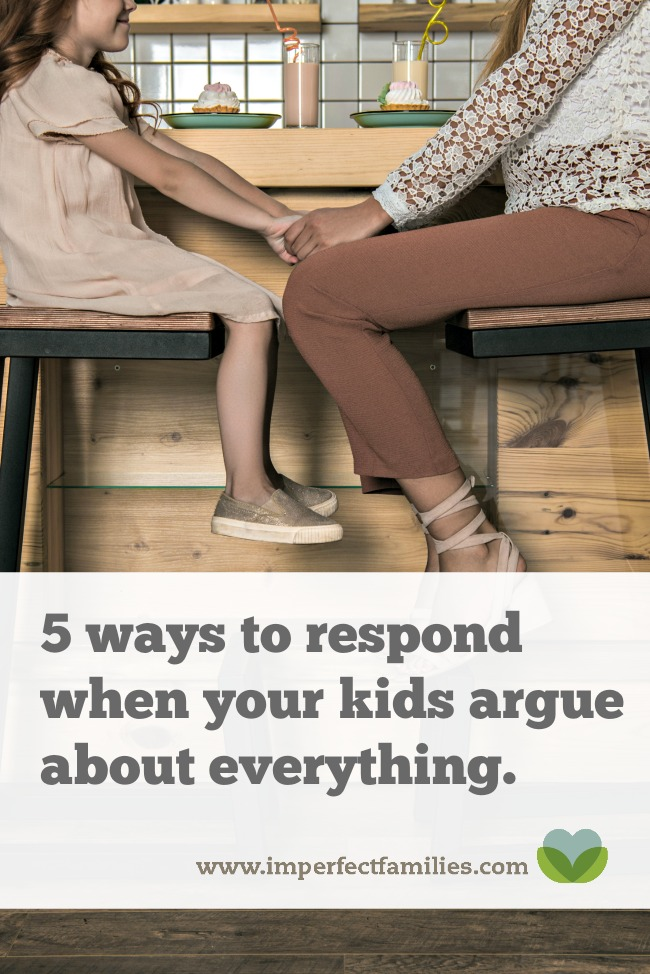 Tired of hearing arguments and complaints from your kids? Use these 5 tips to restore peace in your home.