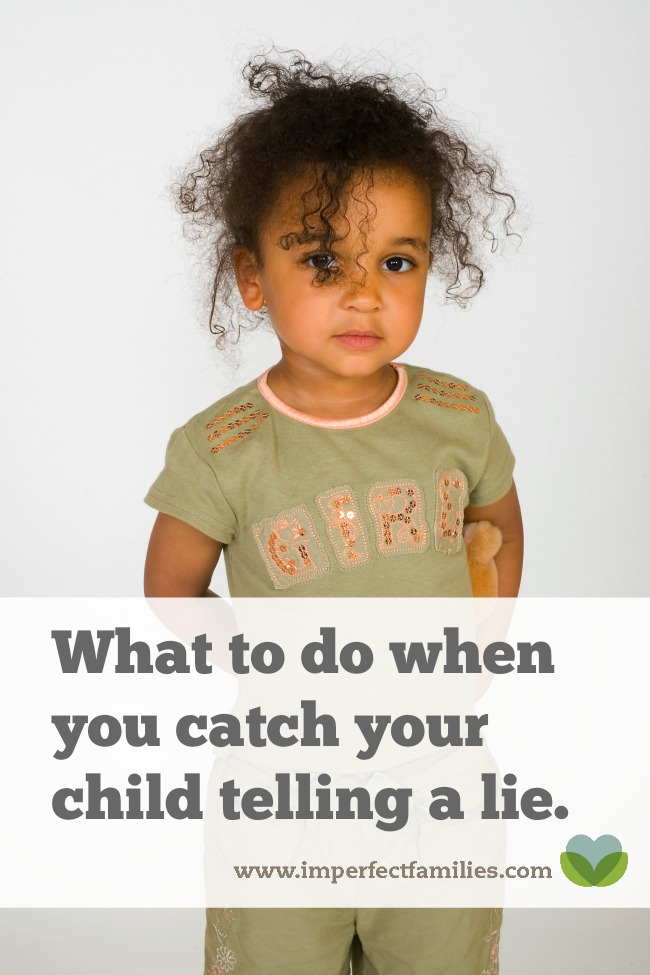 Catch your kids in a lie? Use these tips to promote an attitude of honesty in your home!