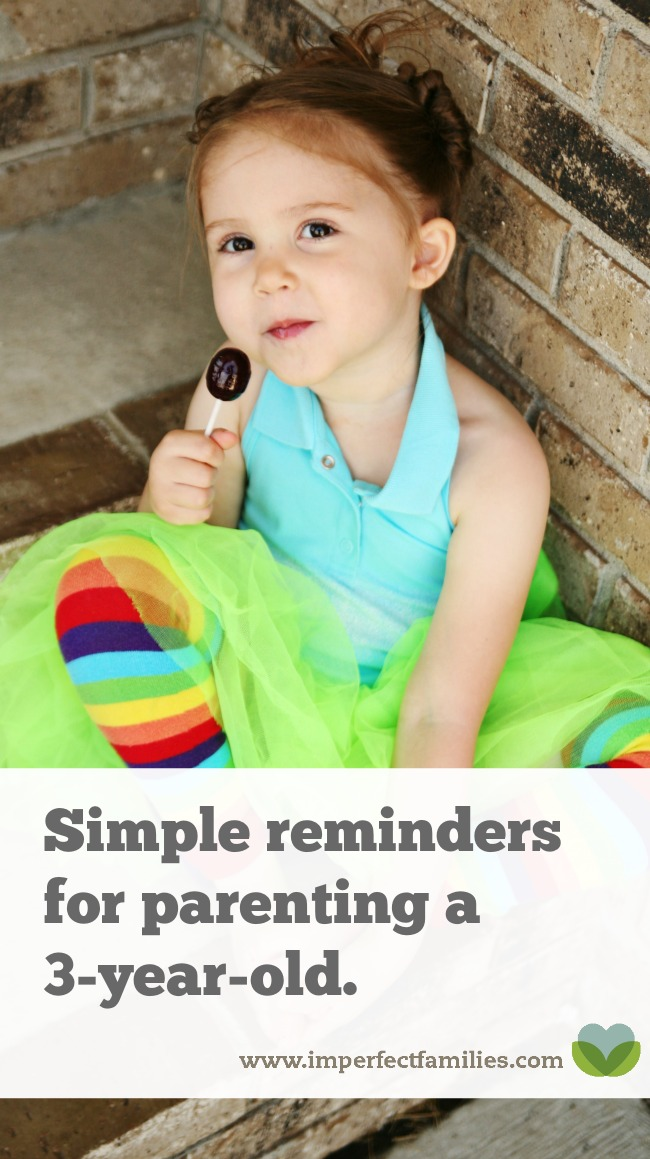16 things your 3 year old wants you to know. Plus a free printable reminder!