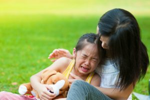It's not easy to stay calm when your child is upset. Here are some tips to help you listen well.