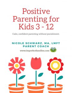 Live Local Speaking Events with Nicole Schwarz, Parent Coach, Positive Parenting for Imperfect Families