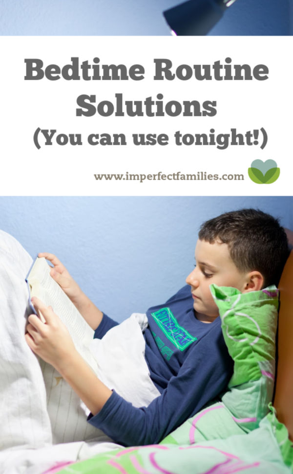 Bedtime routine solutions you can start using tonight.