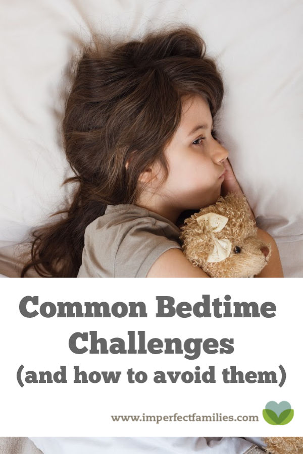 Common bedtime challenges and how to avoid them.