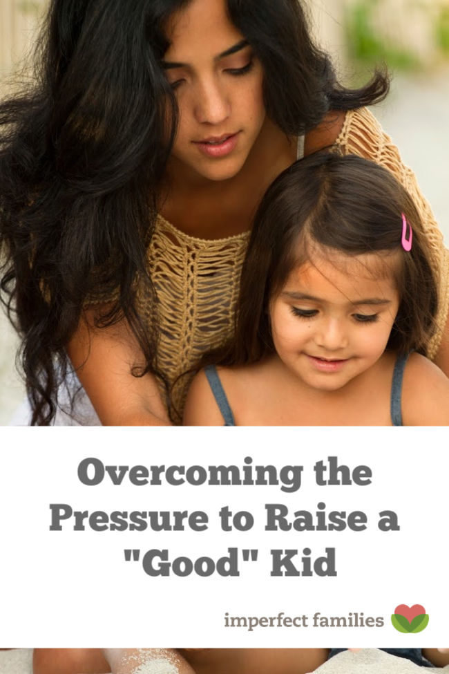 Overcoming the parenting pressure to raise a good human.